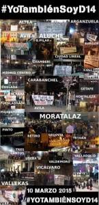 Condenas a detenciones de ayer en Madrid