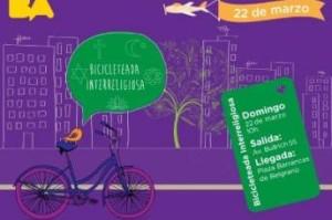 Bicicleteada intereligiosa por la ciudad de Buenos Aires