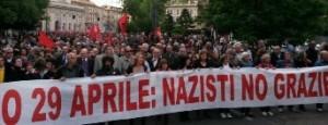 No alla parata nazifascista del 29 aprile a Milano. Assemblea cittadina 4 marzo h. 21