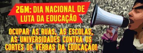 26 de março é Dia Nacional em Defesa da Educação Pública no Brasil