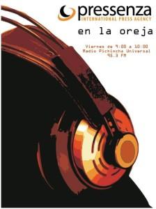 La No Violencia activa En la oreja por Pichincha Universal