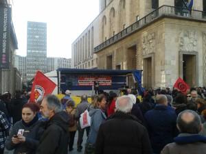 1° marzo 2015 Milano senza frontiere