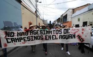 Honduras: Cinco mil campesinos con procesos judiciales por exigir su tierra