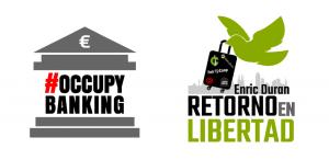 Lanzamiento de campañas #OccupyBanking y #RetornoEnLibertad