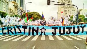 Compañeros de la Tupac Amaru toman la palabra el 1º de marzo en Buenos Aires