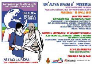 Messina: iniziative per #Unaltradifesapossibile