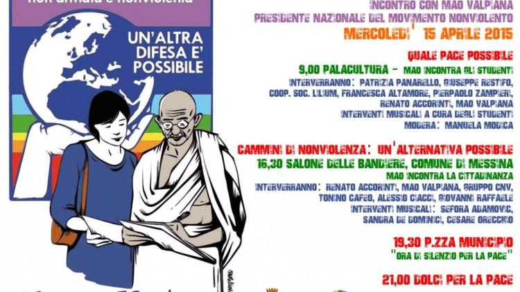 15 aprile messina nonviolenza altra difesa possibile