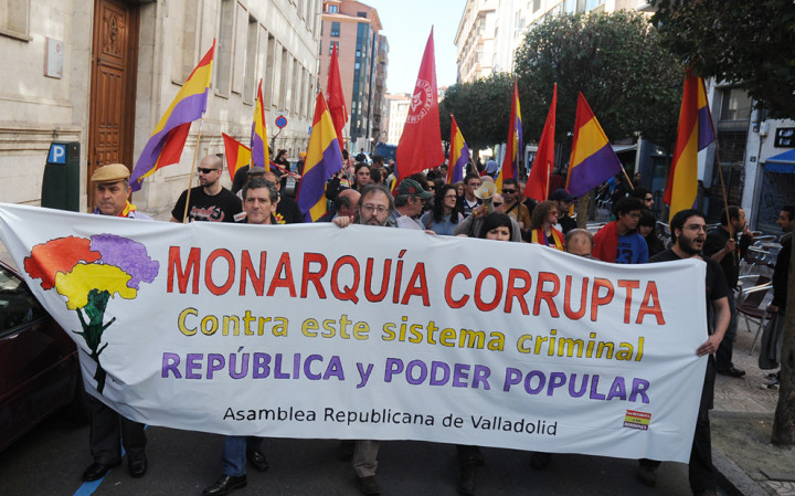 Constituent alternative to monarchy proposed in Spain