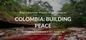 Three days of discussion in Boston on the Colombian peace process.