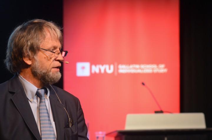 Antanas Mockus the Master on Urban Democracy Spoke in New York
