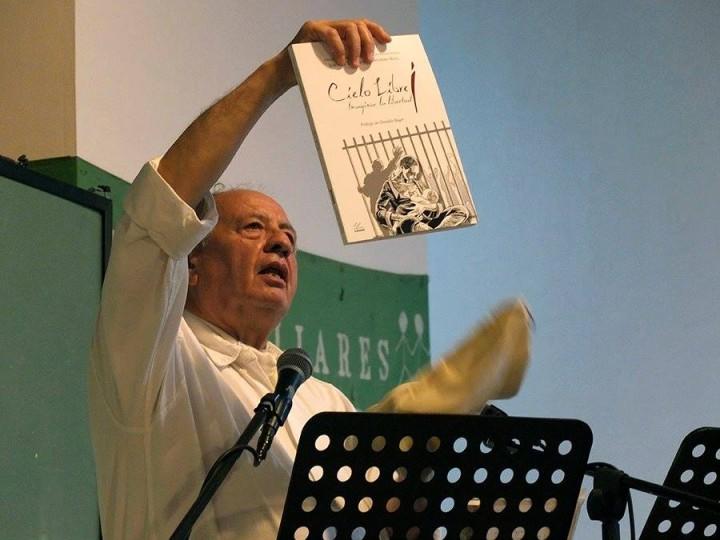 José Luis Tagliaferro, presentación libro Cielo Libre, imaginar la libertad