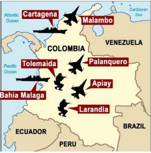 L'UNASUR exige des États-Unis qu'ils retirent leurs bases militaires d'Amérique Latine