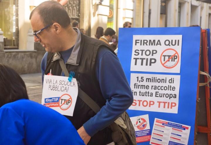 Anche Torino contro il TTIP