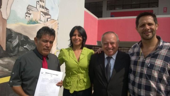 Rinnovato in Perù il progetto COPEHU nella scuola pubblica