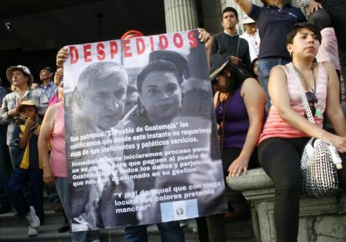 Aportes al análisis del momento político en Guatemala