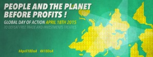 TTIP: Global Day of Action April 18th 2015
