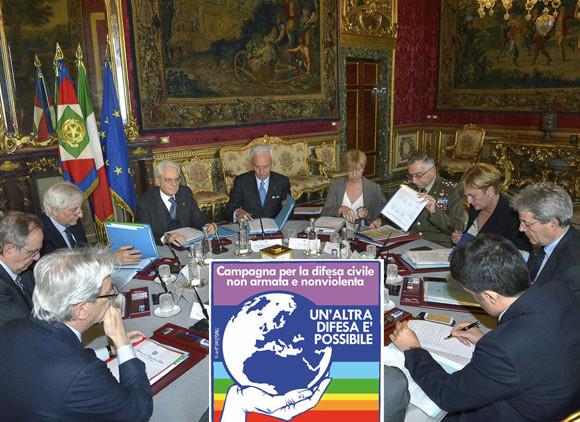 libro bianco difesa campagna altra difesa possibile civile nonviolenta