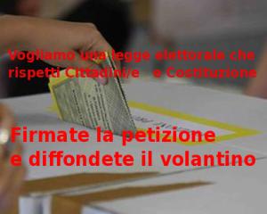 Una rete di cittadini contro l'Italicum