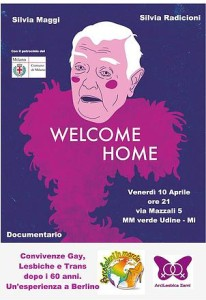 """Documentario """"Welcome Home"""" a Milano"""