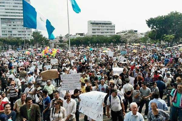 El despertar del pueblo guatemalteco