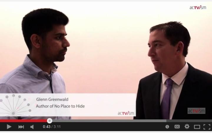 Glenn Greenwald: Soziale Medien, Privatsphäre und Aktivismus