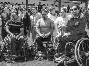 L'Ecuador investe in attrezzi sportivi per disabili