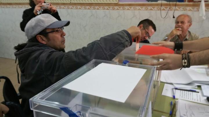 Juanjo Huerta ha ejercido su derecho al voto para que cambien las cosas
