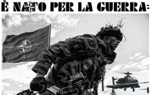 """""""Cento fiori"""" per l' uscita dell' Italia dalla Nato"""