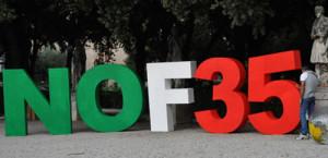 Riparte la campagna della società civile italiana contro i cacciabombardieri F-35