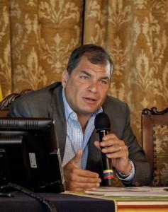 Correa propone un Tribunale Ambientale Internazionale