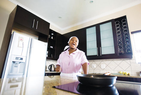 South Africa: domestic workers paid peanuts