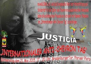 "Aufruf zum ""Internationalen Anti-Chevron Tag"""