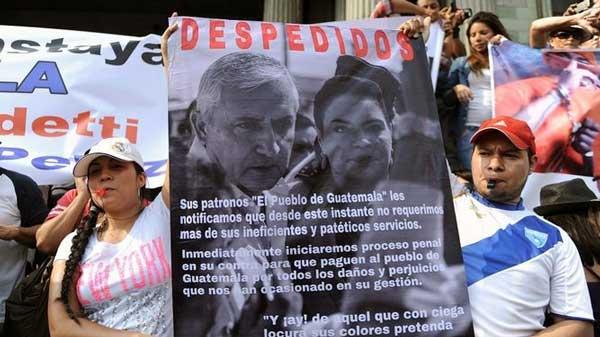 Presión popular es fundamental para concretar cambio político en Guatemala