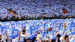 Japoneses continúan protestas contra bases de EEUU en Okinawa