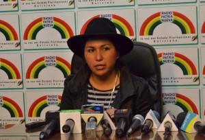 Medios de comunicación en Bolivia están en proceso de democratización, anuncia ministra Paco