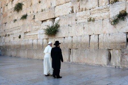 Jews congratulate Pope Francis