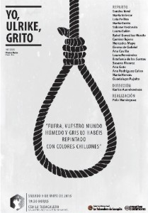 Estreno del cortometraje «Yo, Ulrike, grito», basado en texto de Franca Rame y Darío Fo