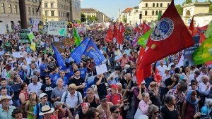 Proteste gegen den G7 Gipfel