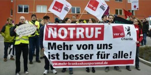 Protesta degli assistenti sanitari: sciopero all'ospedale Charité di Berlino
