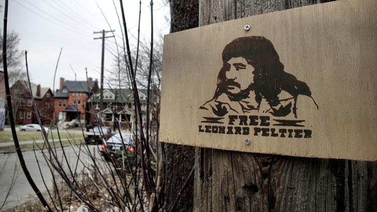 Leonard Peltier 75 Years Old, 44 Years in Prison. Indian Lives Matter?