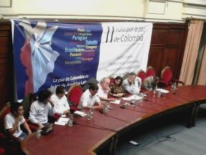 Declaración conjunta en el II Foro por la paz de Colombia