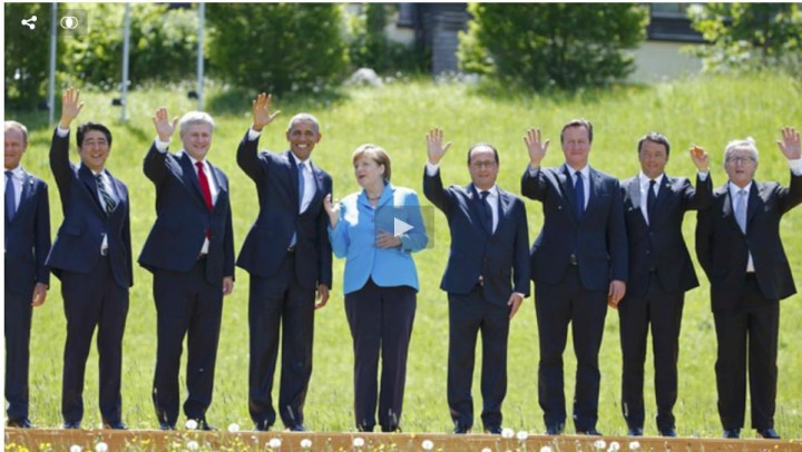 Protesters Press Secluded G7 Leaders on Harmful Policies, from Crippling Austerity to Dirty Coal