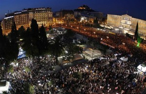 Forcing regime change in Greece: the Troika v. Democracy