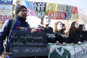 Marcha de Profesores Chilenos