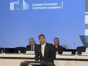 Rafael Correa plaide pour une coopération Celac-UE guidée par le talent humain