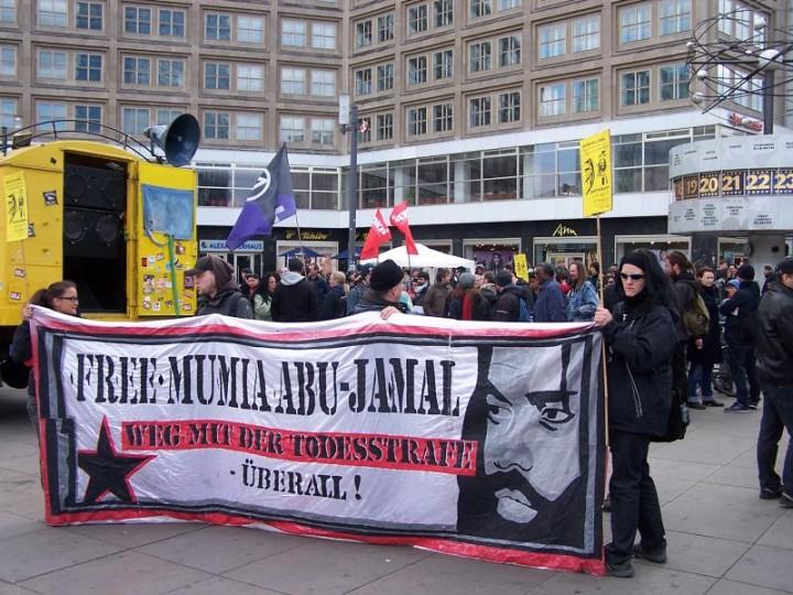Postkarten für die Freiheit von Mumia Abu-Jamal