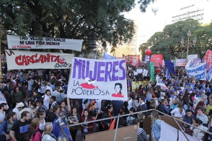 Thousands march against femicide in Argentina