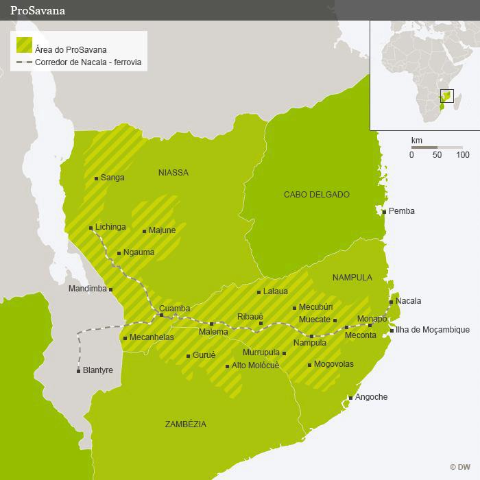 En Mozambique se pisotean los derechos de los campesinos con el proyecto Prosavana