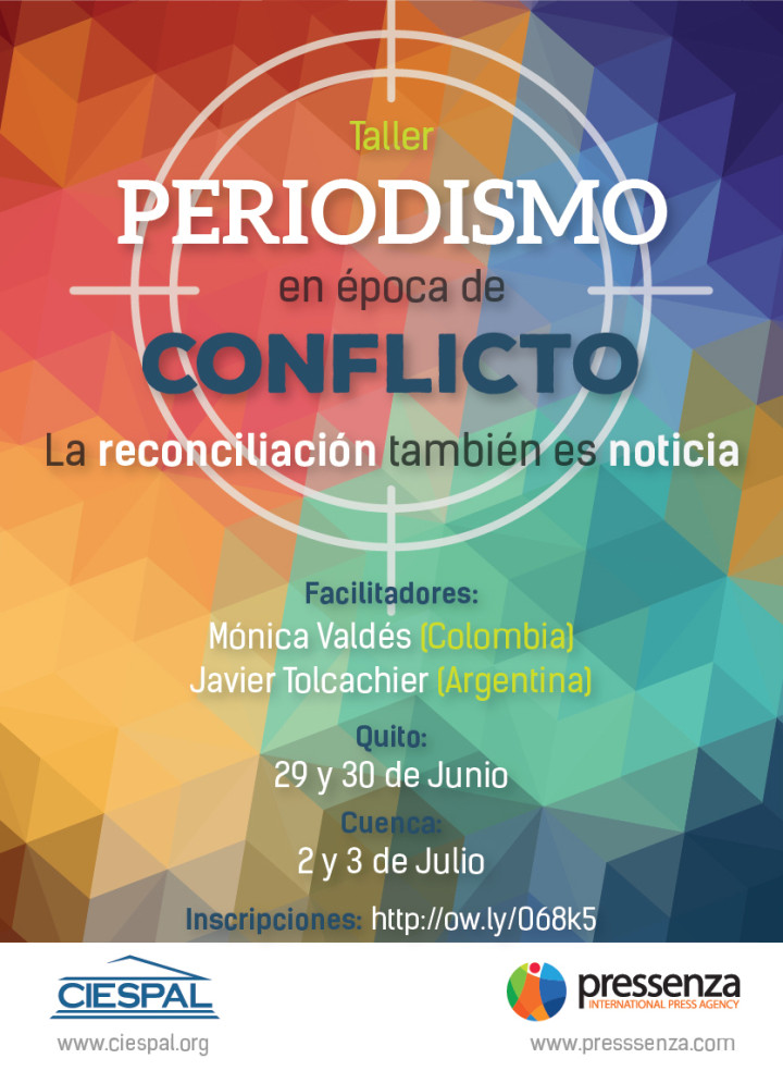 La reconciliación también es noticia: talleres en Ecuador