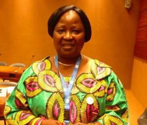 Da Kinshasa a Bruxelles: una donna in lotta per la pace